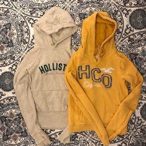 Hollister hooded sweatshirts  size m